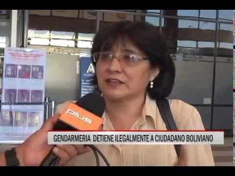 16/10/2014 - 13:01 GENDARMERIA  DETIENE ILEGALMENTE A CIUDADANO BOLIVIANO