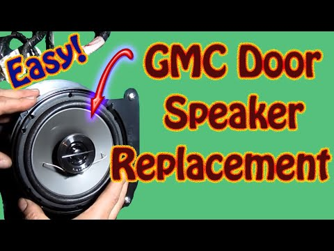 How to Replace Front Door Speaker DIY - Pioneer TS G1644R 6.5