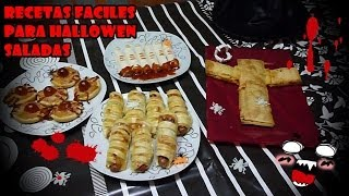 RECETAS FACILES PARA HALLOWEEN SALADAS / EASY RECIPES FOR HALLOWEEN SALT