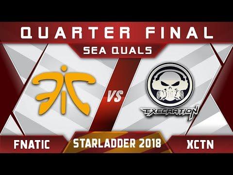 Fnatic vs Execration - New Roster! Starladder 2018 SEA Highlights Dota 2