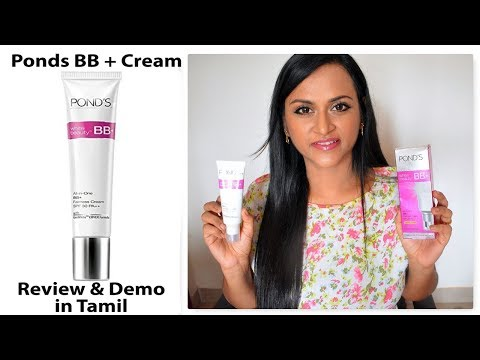 Ponds BB + Cream ஆய்வு மற்றும் டெமோ | CheezzMakeup