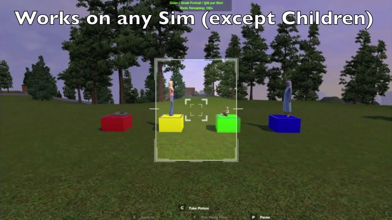 sims 4 how to change veiw
