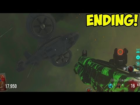 Call of Duty: Advanced Warfare EXO ZOMBIES - EASTER EGG ENDING! Rescue...