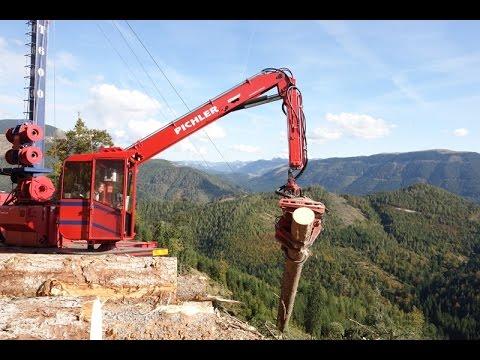 Lanovka na približovanie dreva