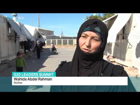 TRT World: Zeina Awad reports from Turkey's Kilis before G20 summit that concerns refugees