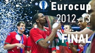 Eurocup-2012/13 FINAL Lokomotiv Kuban vs. Bilbao 13.04.2013. Full game