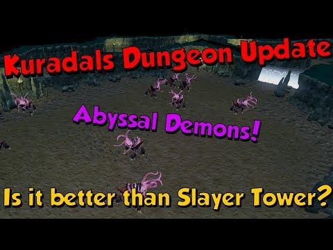 New! Kuradals Dungeon Update! [Runescape 3] Abyssal Demons Improved!