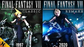 Final Fantasy VII Remake vs Original | Direct Comparison
