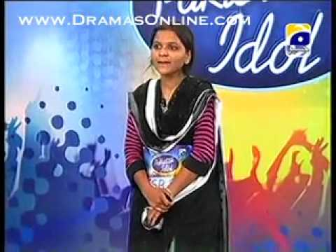 Faisalabad auditions Pakistan Idol very sweet singer Maria Meer Music Videos