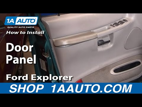 How To Install Replace Door Panel Ford Explorer 95-01 1AAuto.com