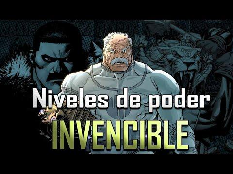 Los personajes mas fuertes de Invencible