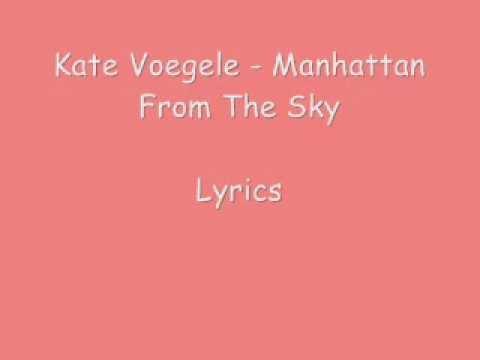 Kate Voegele - Hallelu... Nicole Scherzinger Songs Right There