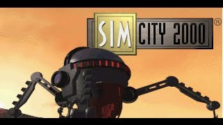Classic PS1 Game SimCity 2000 on PS3