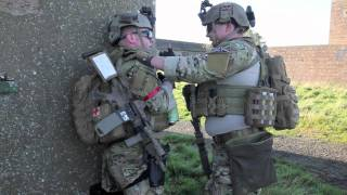 Airsoft Skirmish Video - Fife Wargames - Explosive Case