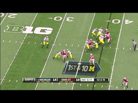 Johnathan Hankins vs Michigan (2012)