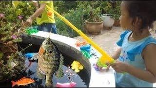 Trò Chơi Câu Cá  ❤ KN Cheno Bé Na ❤  Đồ Chơi Trẻ Em toys for kids