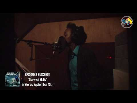 KRS-ONE & BUCKSHOT Studio Sessions with K'NAAN