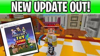 Minecraft PS4 Update Out Now! Toy Story Mash Up Pack & Patch 1.93 Details