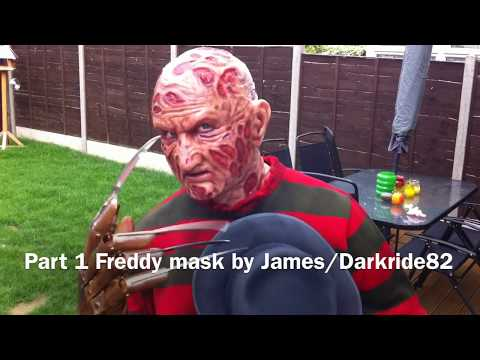 Part 1 Freddy Krueger silicone mask by James/Darkride82
