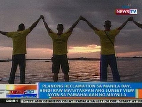 NTG: Planong reclamation sa Manila Bay, hindi daw matatakpan ang sunset view