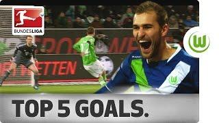 Top 5 Goals - Bas Dost - 2014/15