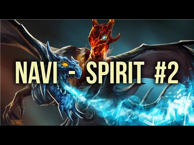 NaVi vs Spirit Highlights Dota pit Season 4 Game 2 - Dota 2