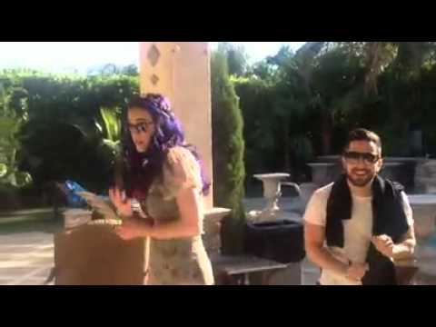 Katy Perry and friends singing/dancing to