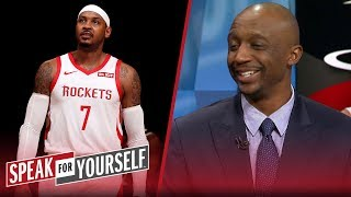 Jason Terry on the Rockets: Look at their roster, it doesn't fit | NBA | SPEAK FOR YOURSELF