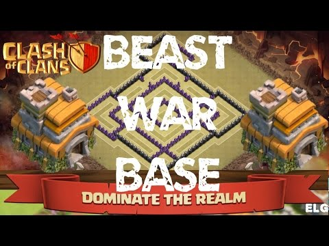 Clash of Clans Best Town Hall 7 Clan War Base - Trophy/Defensive Base - Custom Build