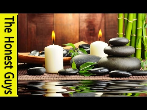 3 HOURS Relaxing Music with Water Sounds Meditation Music Videos