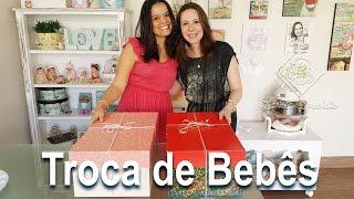 Troca de Bebês Reborn com a Artista Cegonha Renata Mota