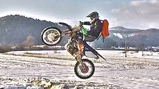 Snow Enduro Part 2 - Let's Fuck Up The Fields!!