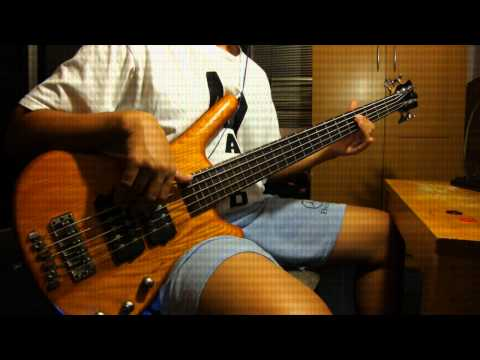 Mangoneman  รักแรกพบ - tattoo colour  bass cover )