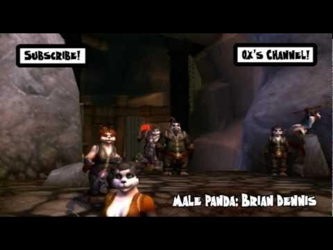 The Panda Exterminator - World of Warcraft WoW Machinima by Oxhorn - Mists of Pandaria MoP