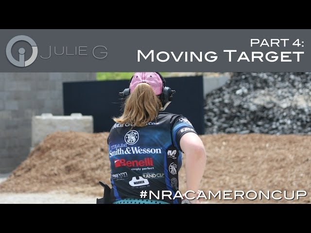 Gone SHOOTing: Julie Golob at NRA Cameron Cup: The Mover | JulieG.TV