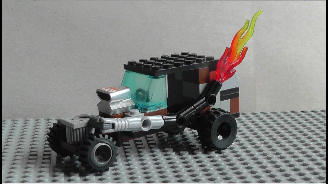 Как сделать прицеп для военной машины из лего