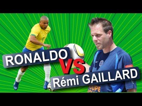 Śmieszny filmik - Ronaldo Vs Rémi Gaillard