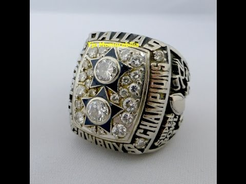 1977 DALLAS COWBOYS SUPER BOWL XII CHAMPIONSHIP RING FOR SALE. CONTACT TJ KAYE 561-756-7500 10K GOLD ! DIAMONDS ! STAR PLAYER ...