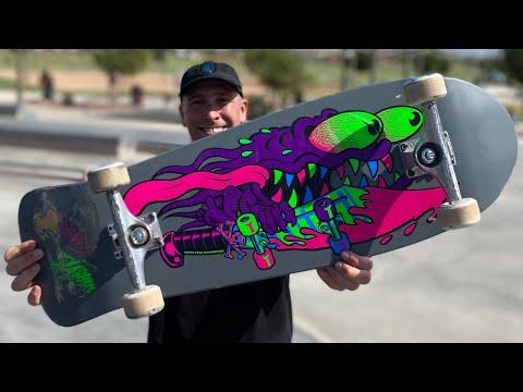 BLACKLIGHT REISSUE SERIES PRODUCT CHALLENGE!   Santa Cruz Skateboards