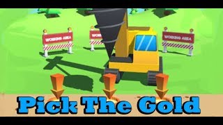 Pick The Gold hack game for kids