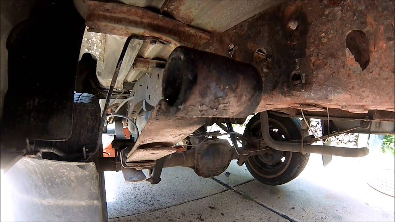 2001 Ford Ranger Xlt 2wd Leaf Spring Shackle Replacement