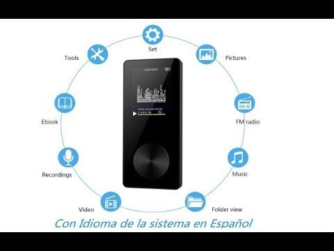 NickSea Radio MP3 FM Portátil (en amazon )