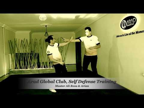 Master Ali Reza & Arian, Self Defense Training: Arad Global Club, Eskişehir Self Defense Merkezi