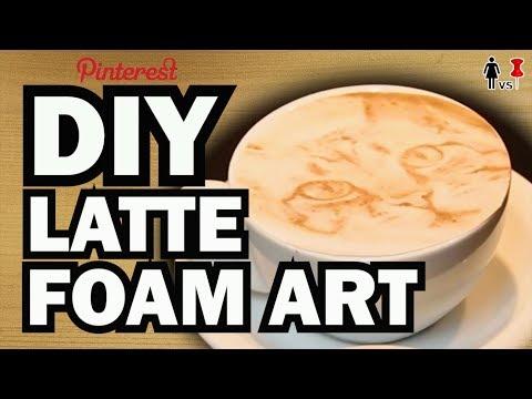 DIY Latte Art, Corinne VS Starbucks #2