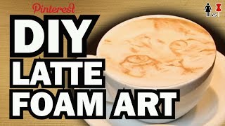 DIY Latte Art, Corinne VS Starbucks #2