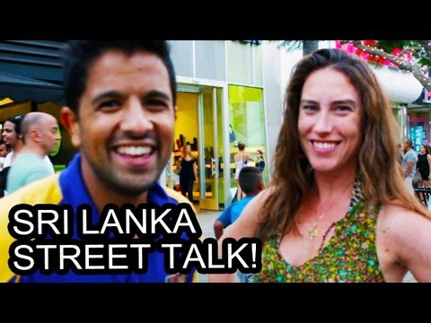 Asking Strangers About Sri Lanka!