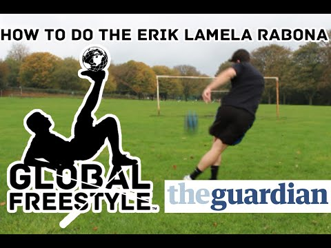 Erik Lamela Rabona Learn How to do it - Football Skill Tutorial