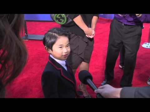 The Mini Warbler Kellen M Sarmiento at Glee 3D Concert Movie Premiere