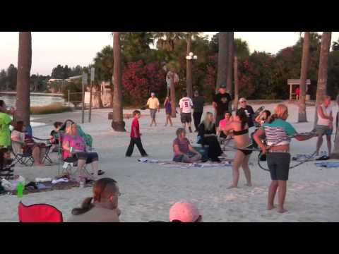 Pine Island FL Drum Circle 11/10/2013 #2 (HD)