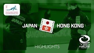 HIGHLIGHTS: Japan v Hong Kong - Women - Semi-final - Pacific-Asia Curling Championships 2018